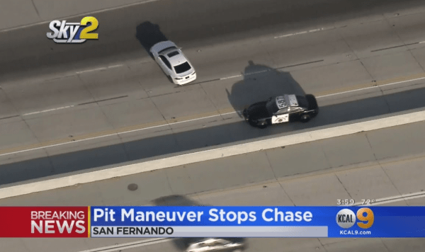 Police Chase Stolen Car Belonging To Off-Duty Officer - The