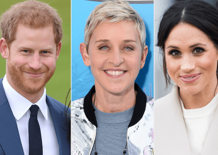 Ellen DeGeneres and More Celebs Speak Out in Defense of Meghan Markle and Prince Harry