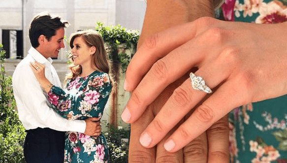 All About Princess Beatrice S Engagement Ring The World News Daily